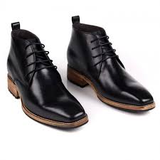 british taller dress boots for men height 7cm 2 8inch black elevator business boots
