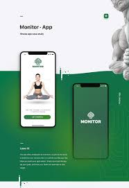 Design Your Own Workout Plan Monitor Fitness App Case Study On Wacom Gallery