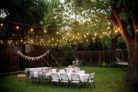 backyard party lighting ideas. awesome string lights for outdoor backyard party lighting ideas