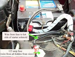 converting a ford 2g to 3g alternator double check all your wiring make sure your belt is adjusted and fire up the car measure the voltage at the battery and you should see 14 x volts