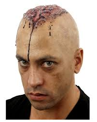 braindead zombie balding film make up on zombie make up horror