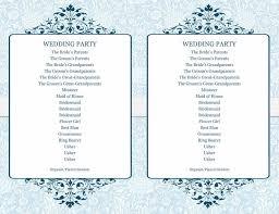 Templates For Wedding Programs 37 Printable Wedding Program Examples Templates