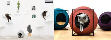 chic cat furniture. Chic Cat Bed Designers Debut More Classy Furniture For Suspiciously Self Aware Felines S