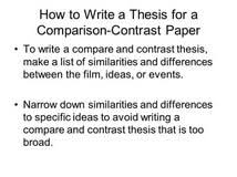 how to write introduction for compare and contrast essay how to write compare and contrast essay essaywriters us
