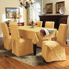 Slipcovers Living Room Chairs Kitchen Dining Exciting Dining Chair Slipcovers For Elegant