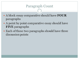 Do Essays Have Paragraphs How To Write A Compare And Contrast Essay Ppt Video Online Download
