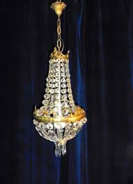 antique french basket chandeliers