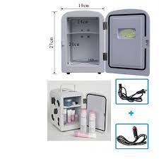 office mini refrigerator. 4l milk cow portable mini fridge ref cooler warmer for car home and office refrigerator