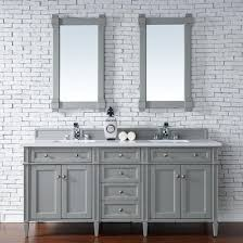 Traditional double sink bathroom vanities Grey Brittany 72 Discount Bathroom Vanities Brittany 72