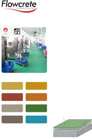 Flowcrete Color Chart Flowfresh Mf 3 4mm Description Flowcrete Flowfresh Mf 3