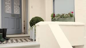 make a good first impression by painting your front door in smart inviting colours