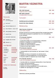 Curriculum Vitae Cv Word Templates Pinterest Nederlands Courtnews Info