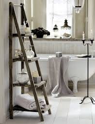 bathroom storage stand. standing wooden ladder shelf bathroom storage ideas towel rack stand r