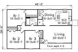 one level floor plans 3 bed on 1
