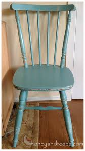 Kitchen Chair Makeover Of A Pine Kitchen Chair Using Chalk Paint A Honey Roses