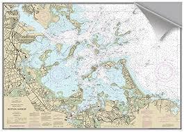 Maptech Boston Outer Harbor Ma Decorative Nautical Chart