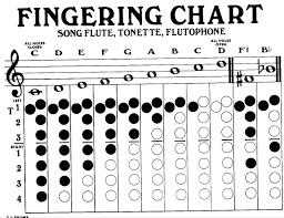 Flutophone Finger Chart Pin On Music Class Ideas