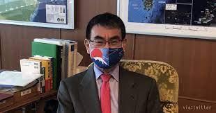 河野 大臣 マスク