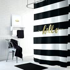 white and black shower curtain black white striped shower curtain black and gold shower curtain striped