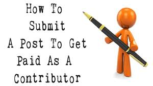 get paid to write articles online how to submit a post