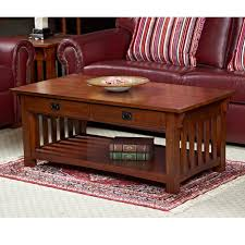 inspiring mission coffee table and leick solid ash two drawer mission coffee table coffee tables at