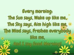 Quotes To Say Good Morning