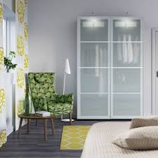 cupboard doors ikea beautiful pax wardrobes wardrobes with frosted glass doors provide storage