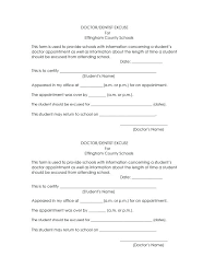 Doctors Note Template For Missing Work Beautiful Fake Doctor