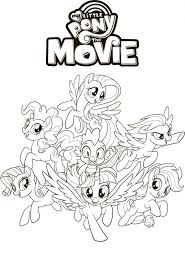 Coloring Pages Animeg Book Online Adult Free My Little Pony Pages