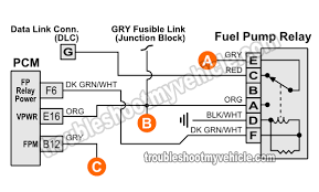 part 1 1994 fuel pump circuit tests (gm 4 3l, 5 0l, 5 7l) 91 s10 fuel pump wiring diagram fuel pump relay wiring diagram (1994 chevy pickup 4 3l, 5 0l, 5 7