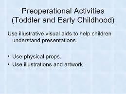 Preoperational Activities     SlideShare
