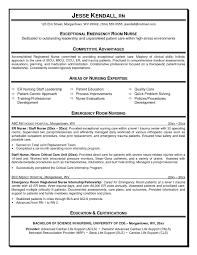 Emergency Room Nurse Resume Beautiful Emergency Room Nurse Resume