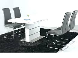 white gloss dining table set high to enlarge round di