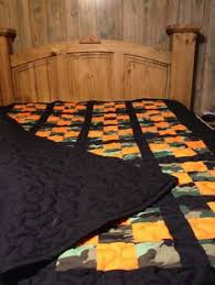 Real Tree Camo & Orange Hand Made Baby Quilt 36 by AddalittleFavor ... & Camo quilt Adamdwight.com
