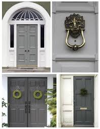 Country Style Colour Study Beautiful Farrow And Ball Front Doors In - Farrow and ball exterior colours