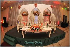 nigerian wedding decor white weddings
