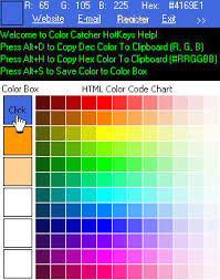Free Download Color Code Html Flash Chart Catcher