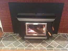 blaze king fireplace and duravent liner install