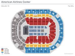 Dallas Cowboys Stadium Seating Chart Seating Maps American Airlines Center