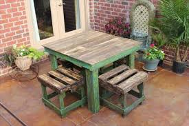 DIY table made from Pallets: