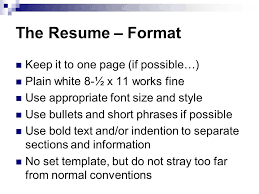 Resume Training Mike Walzel The Dow Chemical Company 12 15 Ppt Download