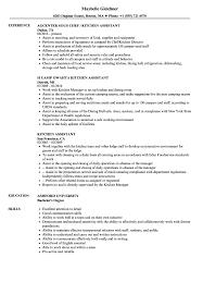 Resume Sample For Kitchen Staff Plks Tk