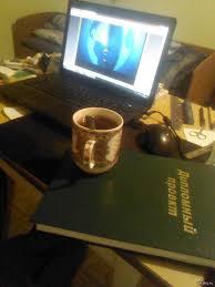 Когда обратил внимание сердце замерло  Когда обратил внимание сердце замерло Только закончил оформлять и подшивать диплом пью чаек