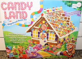 Premade Gingerbread Houses Candy Land Gingerbread House Kit Assembly Youtube