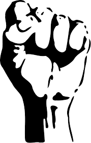 Fist Transparent Background Raised Fist Clip Art Fight Png Download 2267 3557 Free