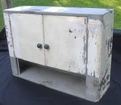 vintage art deco metal wall cabinet