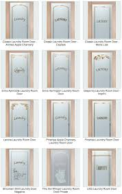 sans soucie art glass laundry room doors