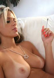 Women who smoke during sex