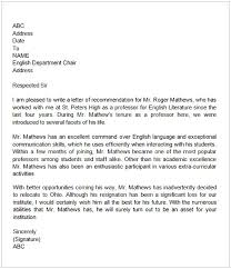 Recommendation Letter For Colleague Letter Of Recommendation For A Teacher Colleague Cycling
