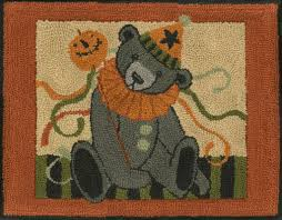 rug designs and patterns. HR051 - Halloween Party Bear Rug Designs And Patterns I